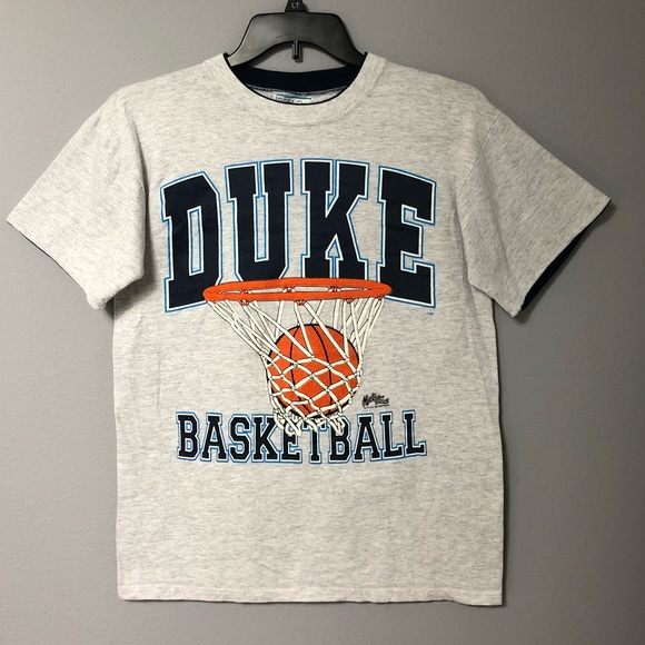 watch bc87d cee80 Duke Vintage Basketball T Shirt M